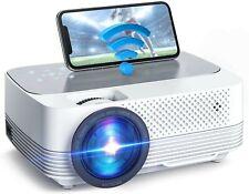 Mini Beamer 6000 Lumen,Native Support 1080P Full HD WiFi Beamer Heimkino Projekt