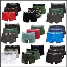 G-Star Boxershorts Herren Unterwäsche Classi Trunks 3er-Pack G Star Shorts Neu