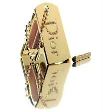 100% AUTHENTIC Exclusive DIOR COUTURE SWAROVSKI JEWEL GOLD Makeup CHARM PALETTE
