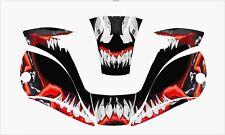 Miller Digital Elite 257213 Titanium Welding Helmet Wrap Decal Sticker Venom