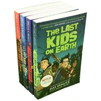 The Last Kids On Earth 4 Books Paperback Children Collection By Brallier&Holgate