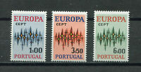 S10496) Portugal 1972 MNH Europa 3v