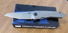 ZERO TOLERANCE New 0055 Cecchini SLT Titanium Flipper S35VN Bld Knife/Knives