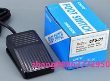 1pcs CFS-01 10A 250VAC Power Pedal FootSwitch 1NO 1NC free shipping  ZHANG&@0222