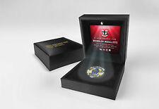 St Kilda Saints OFFICIAL Replica Brownlow Medallion in LED Black Box - OFFICIAL