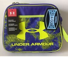 NEW Under Armour Lunchbox Bag Insulated Cooler Purple Yellow