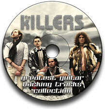 THE KILLERS STYLE ROCK GUITAR BACKING JAM TRACKS CD ANTHOLOGY COLLECTION