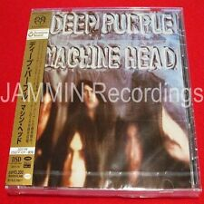 DEEP PURPLE - MACHINE HEAD - JAPAN HYBRID SACD - WPCR-14166 - NEW CD