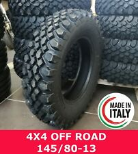 GOMME PNEUMATICI PANDA 4X4 OFF ROAD 145/80 R13 M+S GOMME 145 80 13 RICOSTRUITO