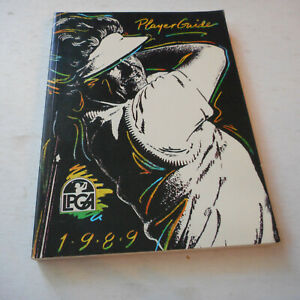 1989 LPGA Golf Players Guide -328  Pages