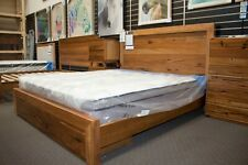 Lex Marinos 4 Piece Bedroom Suite - Solid Marri Timber - with Bed End Drawers