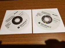 2 x Windows 7 Professional DVD 32/64 Bit mit KEY.