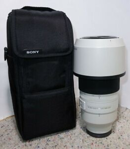 Sony FE 100-400mm f/4.5-5.6 GM OSS Lens E-Mount With Case & Mount (READ)