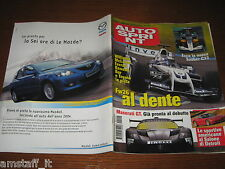 AUTOSPRINT 2004/2=PARIGI-DAKAR=MERCEDES SLK=MASERATI GT=ALFA ROMEO GT 1.9 JTD=