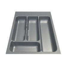 New Kitchen Silver Cutlery Tray Drawer Insert 400mm