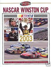 2003 NASCAR WinstonCup Series UMI Annual Hardbound Book