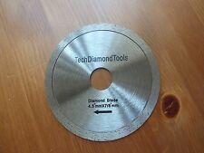 Continuous diamond saw blades 4.5 inch