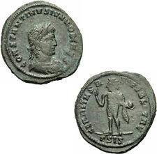 Constantin II. Follis Siscia 317 CLARITAS REIPVBLICAE Sol Globus RIC 37 / 3 - R³