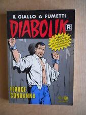 DIABOLIK Ristampa Bianca n°500 con Adesivi  [G566]