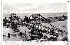 AK, Wilhelmshaven, Kaiser-Wilhelm-Brücke, 1960