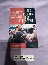 Livre Ces Pierres Qui Attendent - Dialogue Entre L Hindouisme Et Christianisme