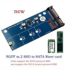 SATA to M.2 NGFF SSD Converter Adapter Card M.2 to SATA 3 III Connector