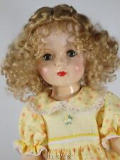 "GLD LT STRAWBERRY BLONDE DOLL WIG SIZE 8/9"" FITS TONI P90/91"