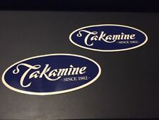 Takamine 2 Stickers 6 Inches Sticker Decal Since 1962