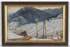 "Stanislav Petrashevski (b. 1935) ""Railway"", oil painting, 1969"