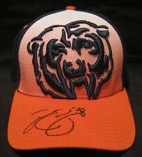 2008-2015 Chicago Bear Zack Bowman autographed Bears baseball hat