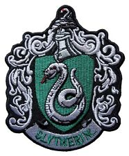 Harry Potter Slytherin Crest Embroidered Patch Officially Licensed
