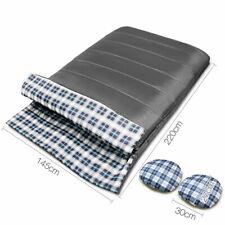 Camping Thermal Winter Grey Sleeping Bag 10°c 220 x 145cm