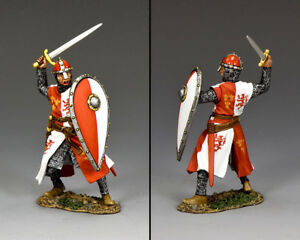 KING & COUNTRY MEDIEVAL KNIGHTS & SARACENS MK168 KNIGHT ABOUT TO STRIKE MIB