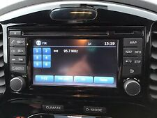 2017 NISSAN JUKE RADIO SAT NAV CD PLAYER 25915BV80A