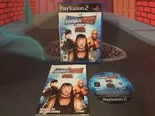 WWE SMACKDOWN VS RAW 2008 PLAYSTATION 2 PS2