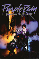 PRINCE AND THE REVOLUTION POSTER PURPLE RAIN