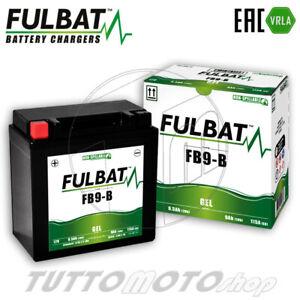 Batteria Gel FB9-B = YB9-B 12V 9Ah-Attivata Senza manutenzione-Gia Carica-PRONTA