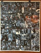 UNIVERSAL MONSTERS OF THE SILVER SCREEN 1996 Uncut Sheet of 90 Trading Cards
