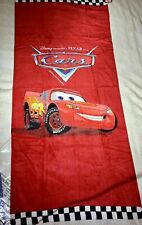 Disney Pixar Cars 2006 Promotional Lightning McQueen Towel New Gift Collect/Use