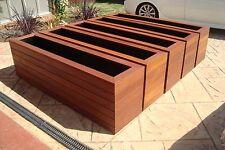 Merbau planter box