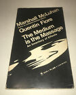 Marshall McLuhan The Medium is the Massage: An Inventory of Effects 1967 PB 60s