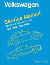 VW VOLKSWAGEN BEETLE KARMANN GHIA TYPE 1 Owners Service Repair Manual Handbook