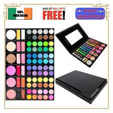 78 Color Eye Shadow Palette Eyeshadow Makeup Box Kit Set Free Gift EU