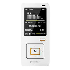 RUIZU X10 4GB Sport Mini Screen Clip USB MP3 Media Player Micro SD TF Card Black