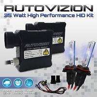 Autovizion Xenon Lights Slim HID Kit for Jeep Cherokee Wrangler Patriot Compass