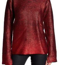 Zadig & Voltaire Metallic Red Jumper Size M RRP £360