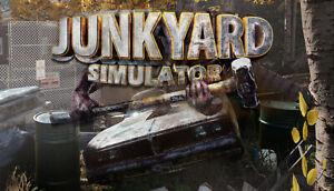 Junkyard Simulator PC Game Offline S Team Fast Post UK Great Condition