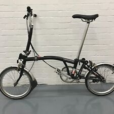 KING FRANK BROMPTONS: Brompton M3L Black - Global Shipping and Trusted Seller