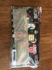 Disney Parks Dooney & Bourke 2018 Christmas Holiday Wristlet Wallet New With Tag