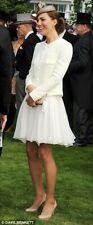 Reiss 'Peacock' White Dress UK8 / US4 ASO PRISTINE Epsom Derby